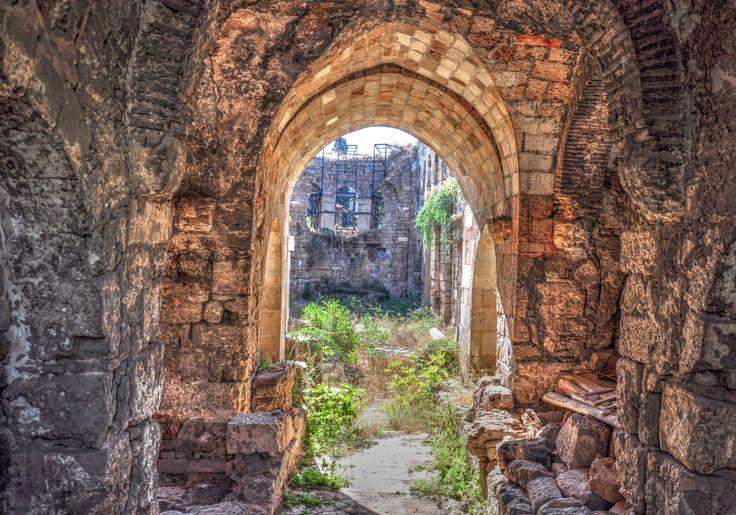 Broken Minaret in Antalya | Turkish Archaeological News