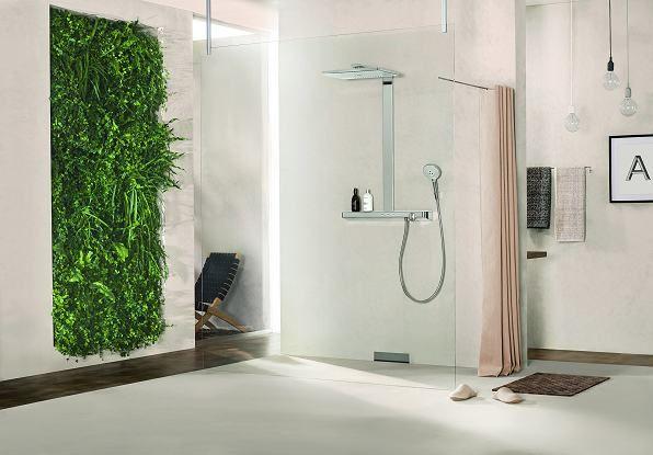 Award winning Rainmaker Select Showerpipe from Hansgrohe - Bathroom Review