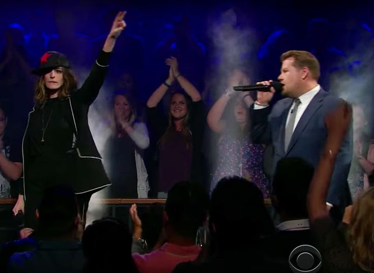 Anne Hathaway and James Corden Have a Rap Battle and Nothing Is Off... | MoreSmile