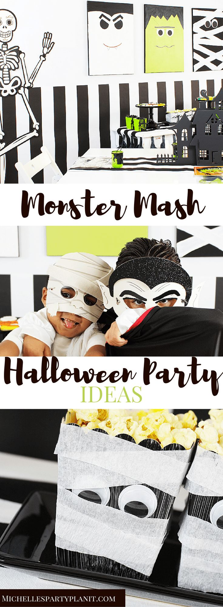 Monster Mash Halloween Party Ideas