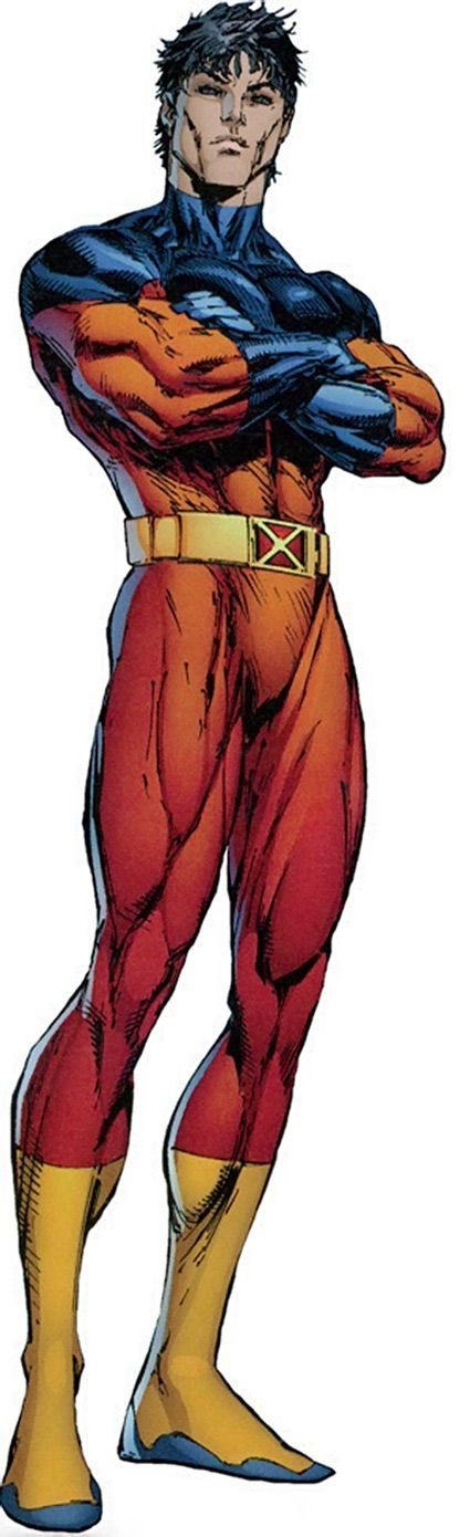 Vulcan. Kid brother of Cyclops and Havok. Mutant power: matter manipulation. He turned out to be a badie.