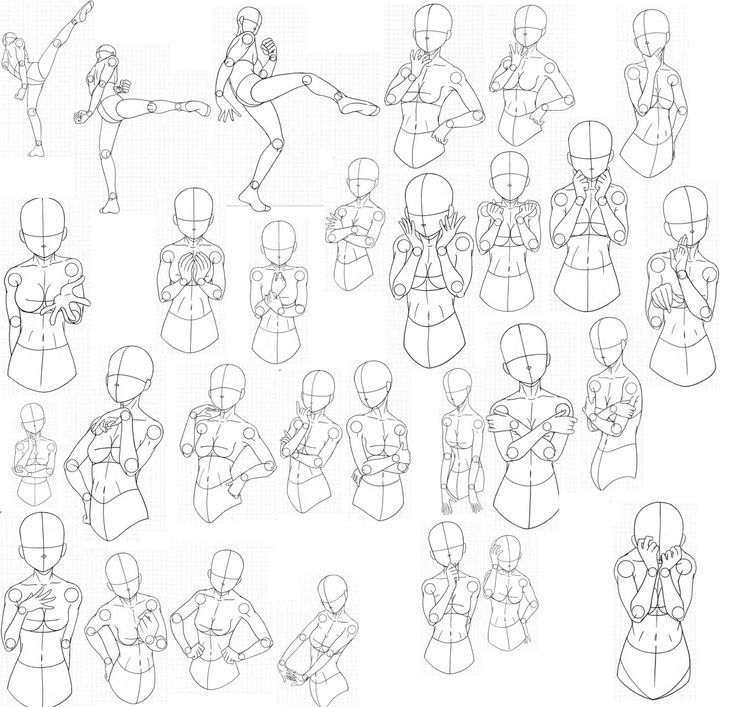 Anime Drawing Poses