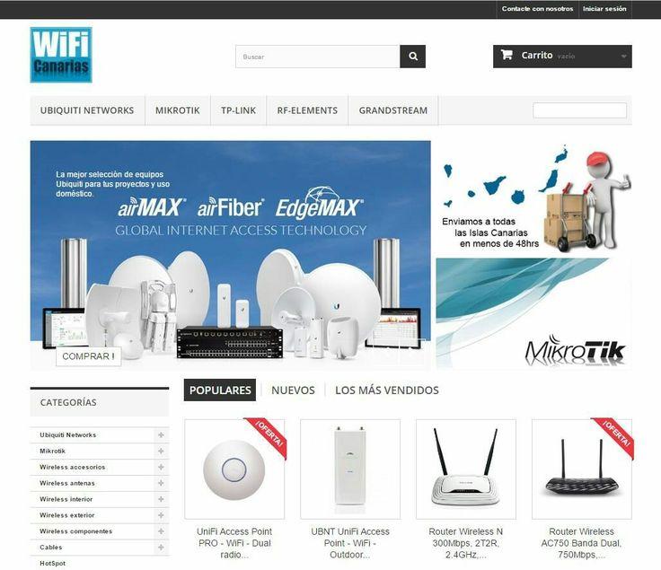 ¿Qué te parece nuestra tienda online, merece ganar, no? Vota!  👉  bit.ly/VotaWiFi  #ecommerce #WiFiCanariasShop #WiFiCanarias
