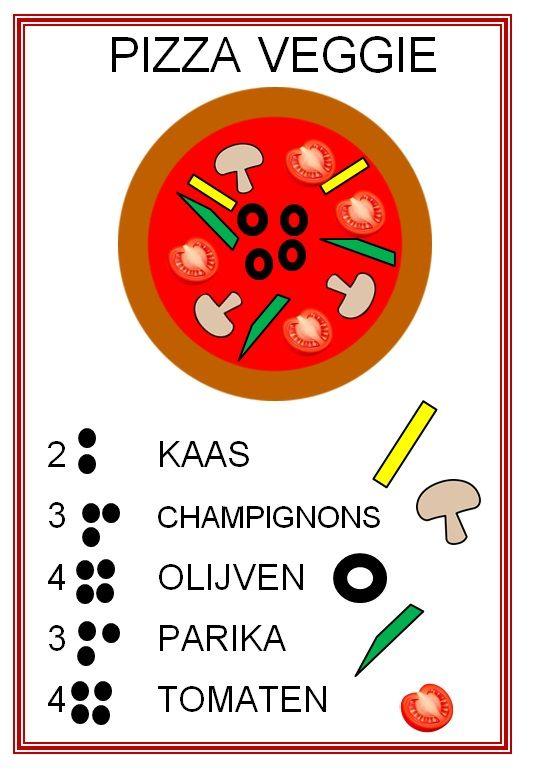 Pizza veggie