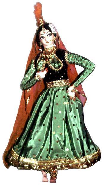 Dance Dolls of India - Khathak