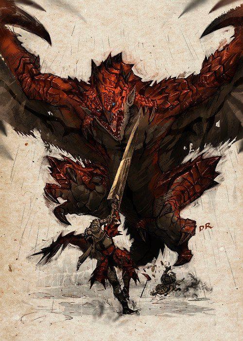 Monster Hunter - Rathalos