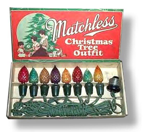antique christmas lights - Antique Christmas Lights
