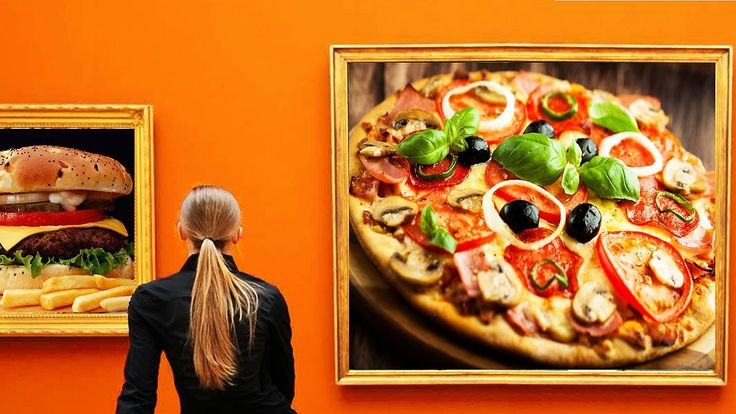 PIZZA vs BURGER || Which Is Healthier?