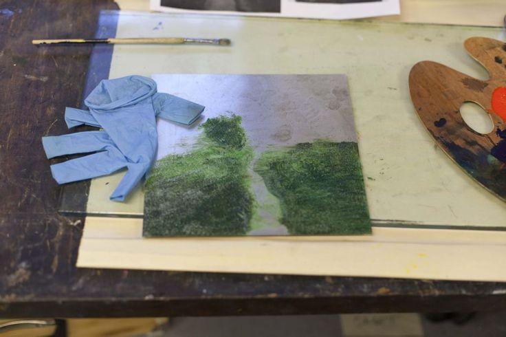 art process monotype print makingBLOMSTRANDE | Monotypi – en rolig tryckteknik | http://blomstrande.com