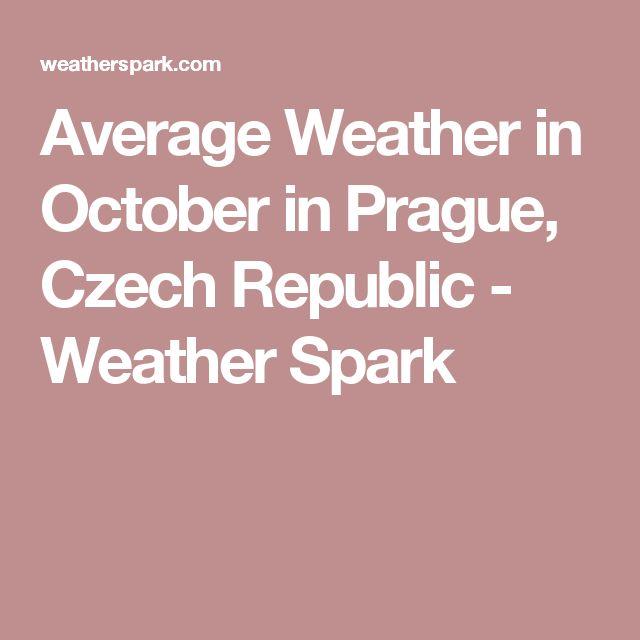 Average Weather in October in Prague, Czech Republic - Weather Spark