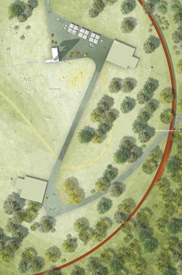 © Atelier LOIDL Landscape Architects | Lovely subtle way to include contour lines: