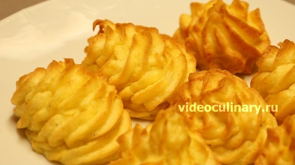 Герцогский картофель от videoculinary.ru