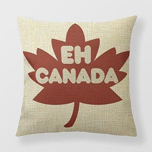 Lily-Anne Canada Day Humour Throw Pillowcase