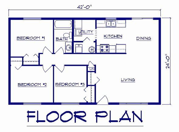 24 X 24 House Plans Best Of 44 By 24 House Plans Ranch House Plans Custom Home Plans Open House Plans