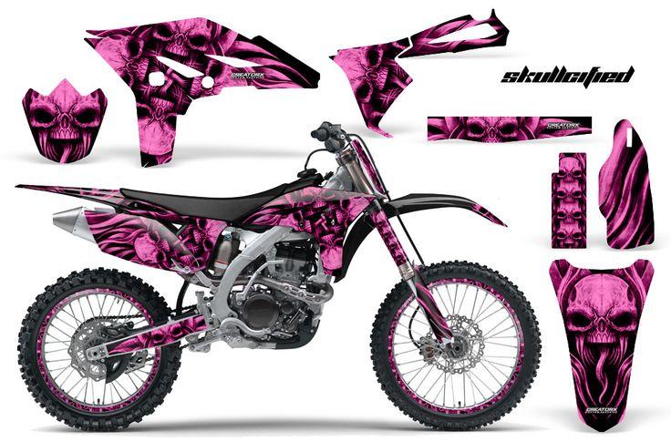 Pink Dirt Bike Racing: Yamaha YZ250F 4 Stroke & accessories