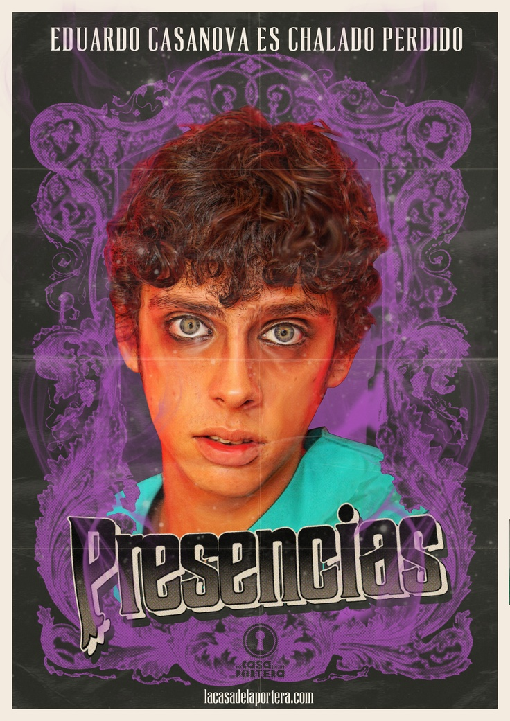 """Eduardo Casanova en """"Presencias"""", de @Benja de la Rosa"""