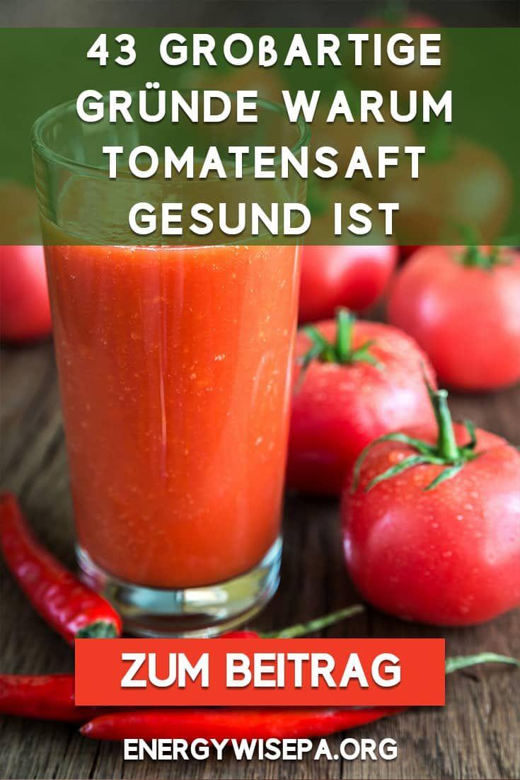 tomatensaft gesund abnehmen