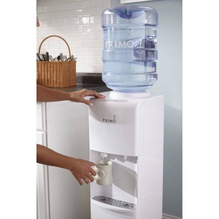 White Top Loading Hot / Cold Water Dispenser – Vick's Great Deals