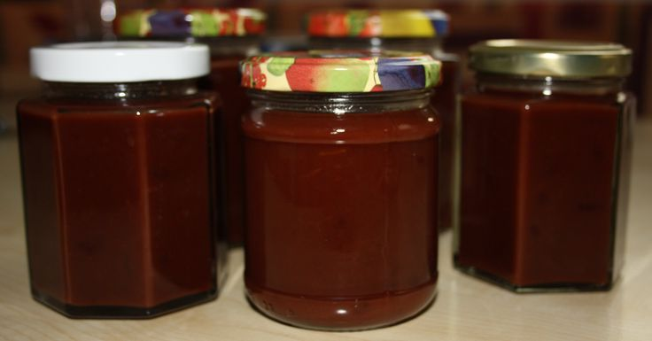 Zwetschgen-Schoko-Marmelade selbst gemacht - Rezept - Anleitung - Marmelade selber machen - Brotaufstrich