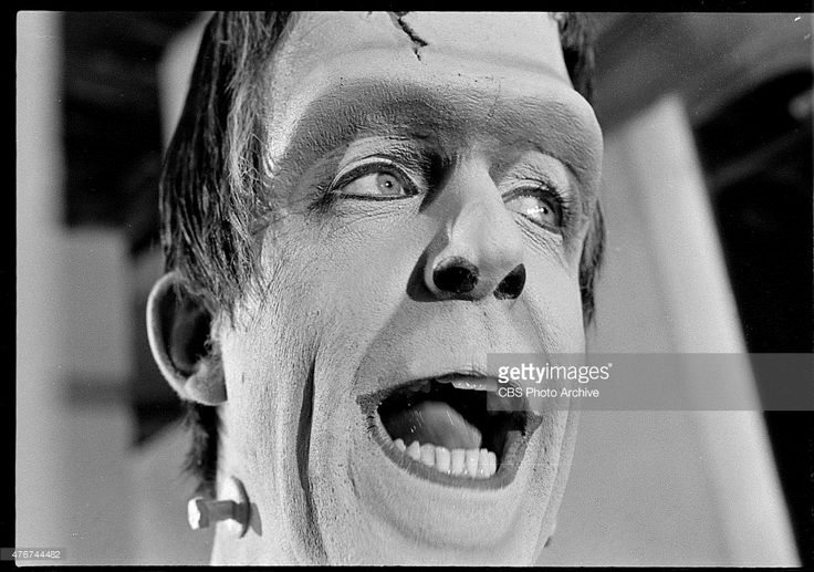 THE MUNSTERS, episode, 'Prehistoric Munster.' Episode 25, season 2, originally aired March 10, 1966. Image dated January 11, 1966. Pictured is Fred Gwynne as Herman Munster.