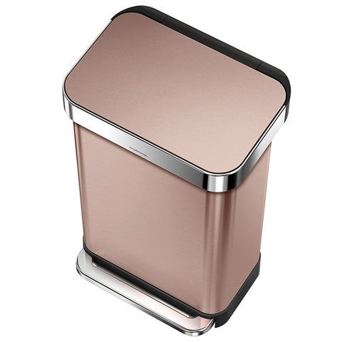 Rose Gold Appliances | InStyle.com (no I actually need this too for recycling) hehe http://amzn.to/2keVOw4
