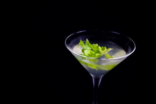 Celery Martini Cocktail - Add A Twist To The Dry Martini
