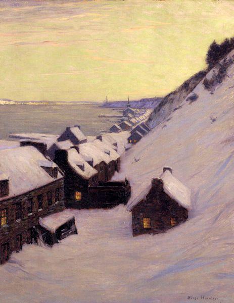 Lowell Birge Harrison (1854 – 1929) Glimpse of the Saint Lawrence