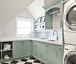 black and white tile laundry room floor - Google Search