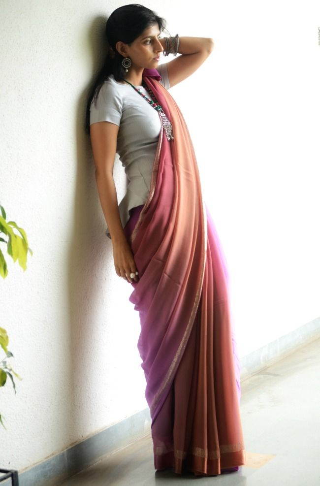 shaded #saree elegant graceful