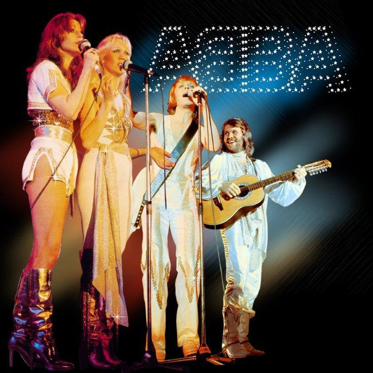 Apr 9, 1977: Swedish pop group ABBA is a sensation on two continents. Dad loves this group !