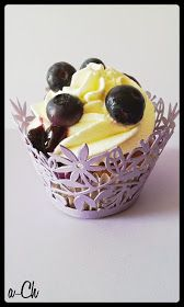 Ani-Chocolat: Cupcakes de arándanos con queso crema (IMPRESIONANTES, EN SERIO)