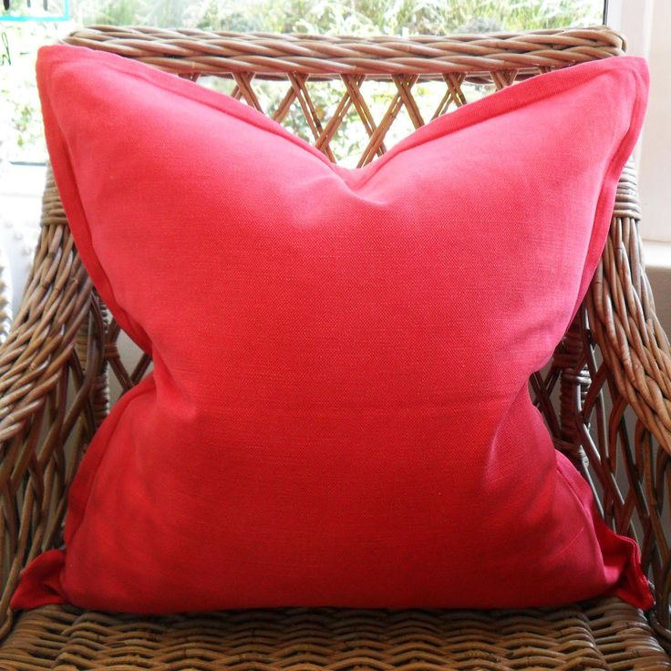 Raspberry -  60cm x 60cm - Inside Out Home Boutique - Available for order online at www.insideouthb.co.za