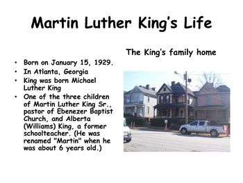 Dr. Martin Luther King Jr. PowerpointThis powerpoint has 70 slides that cover…