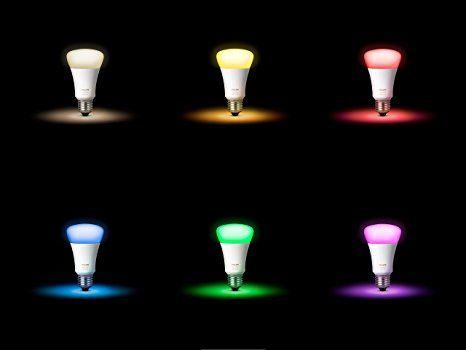 Vintage Philips Hue White u Color Ambiance E LED Lampe Starter Set drei Lampen Generation inkl Bridge dimmbar bis zu Millionen Farben steuerbar via App