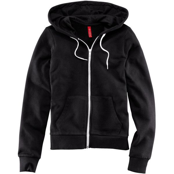 H&M Hooded jacket ($22) ❤ liked on Polyvore featuring outerwear, jackets, tops, hoodies, black, h&m, zip pocket jacket, zipper jacket, hooded jacket and h&m jackets