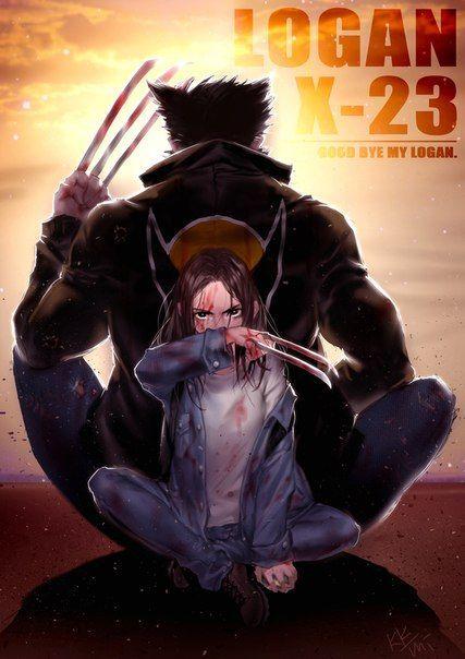 Logan & X-23 #marvel #logan #cosplayclass