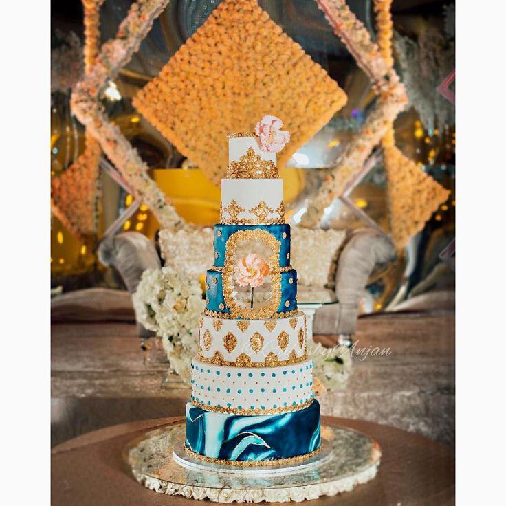 "0 Likes, 1 Comments - Anjan I Cakes By Anjan (@cakesbyanjan) on Instagram: ""Congratulations!! On your wedding. Wish you all the best...@baalkiraanshoker @gurmindershoker…"""
