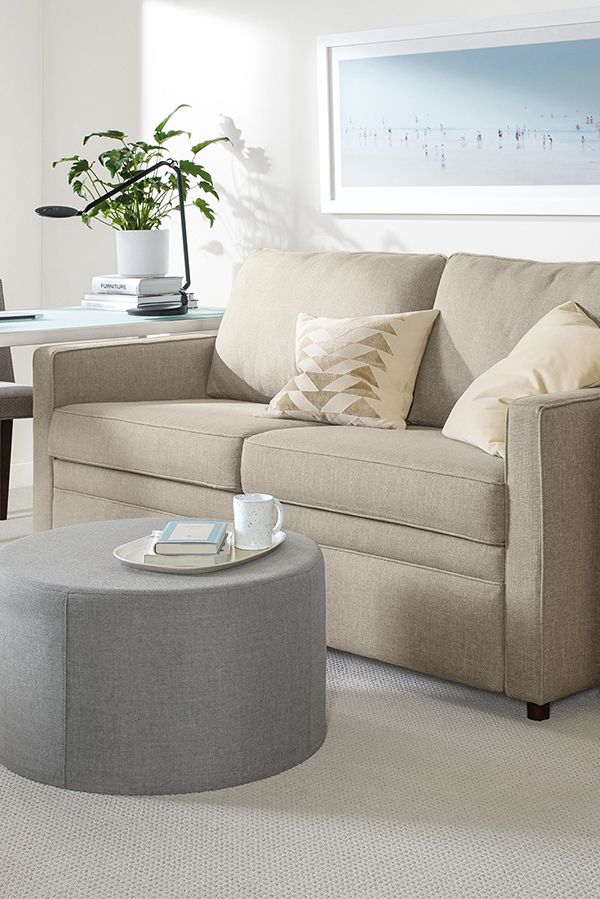 Our Bedford sofa is perfect for small spaces with its comfortable, upright  feel and compact