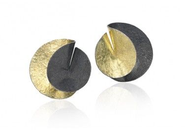 Jerry Szor | Szor Collections, Designer Jewelry, Contemporary Jewelry & Art Jewelry - Jerry Szor is Located in Dallas, TX Szor Collections - Folded Circle Earrings created by Reiko Ishiyama