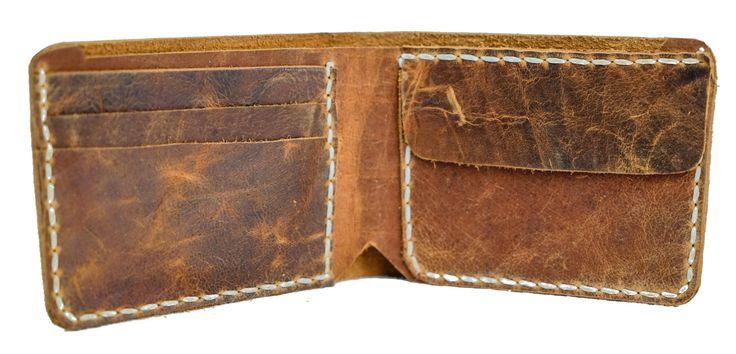 Vintage Handmade Bondi Leather Men's Leather Wallet