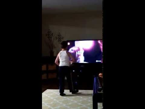"""You're Not Going To Believe What This Kid Does When """"Dirty Dancing"""" Comes On"""