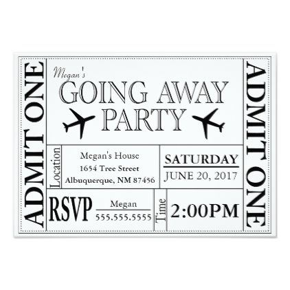 45 best Design images on Pinterest Printable invitations, Ticket