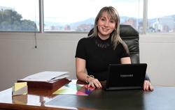 Dra. Johanna Barrero Osuna, Jefe de Información y Evaluación
