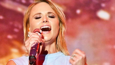 Miranda Lambert Finds Courage To Perform Heartbreaking Song 'Scars' For First Time