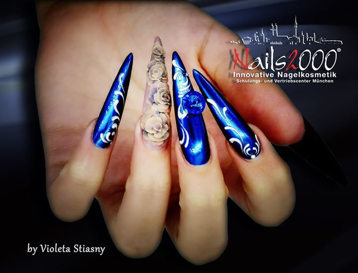 Gearbeitet mit Chrome Wonder Deep Blue Sea von Nails2000  http://ift.tt/2fR7gyI  #münchen #nails #nailart #naildesign #nageldesign #violetanails #chrome #schulungen #kurse #nails2000 http://ift.tt/2esveLh