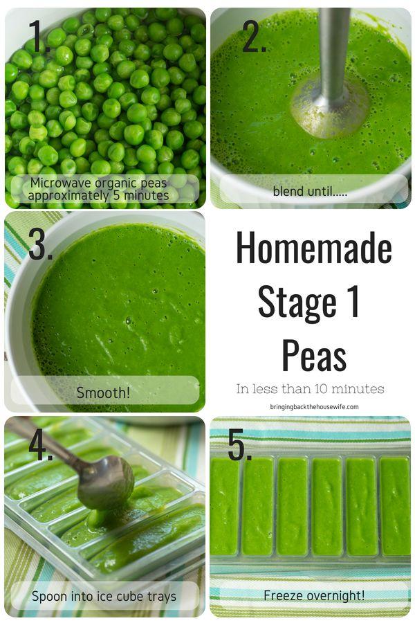 Hausgemachte Stage 1 Babynahrung Rezepte   – BABY
