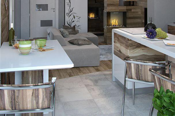 Cuisine Ouverte Sur Salon Sol Different Cuisine Ouverte Sur Salon Cuisine Ouverte Projet Maison