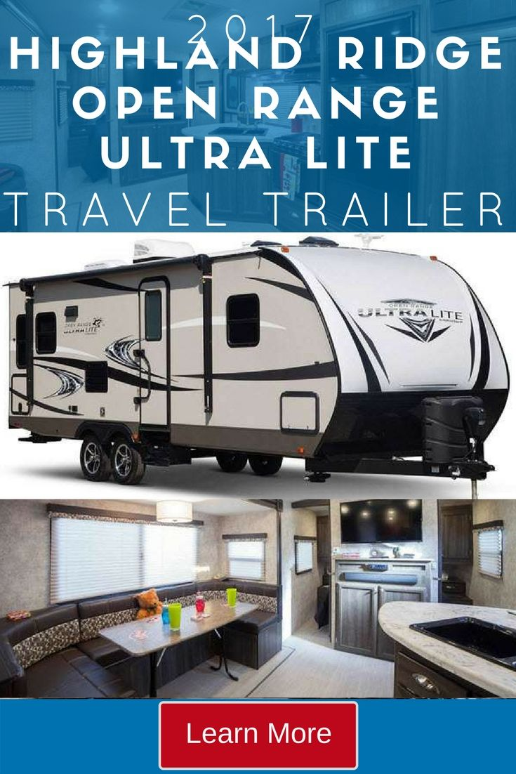 With handy family friendly extras such as a laundry chute, the Highland Ridge RV Open Range Ultra Lite Travel Trailer is a perfect option for families on the go.  With floorplans that include two entry/exit doors, a bunkhouse, or a handy outdoor kitchen, you will have everything you need for a memorable trip with your grandkids.  Check out these great options:  UT2504BH, UT2704BH and the UT3110BH.