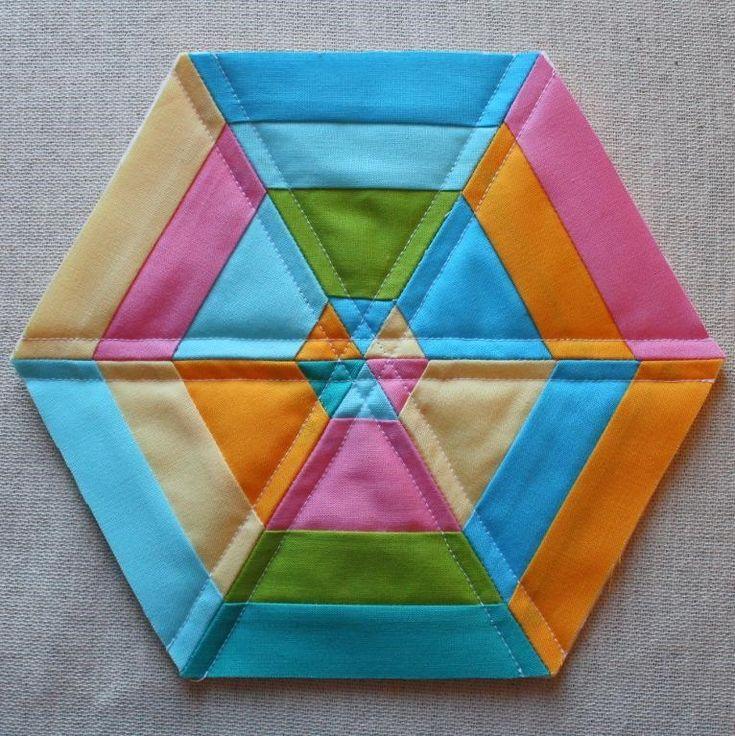 Hexagon Mug Rug