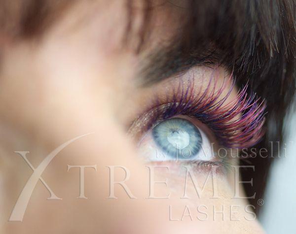 Plum Paradise eyelash extension look | Eye WISH! | Pinterest ...